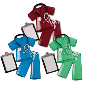 Scrubs Personalized Christmas Gifts for Doctors and Nurses