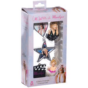 Marilyn Monroe Pack of 5 Mini Ornaments