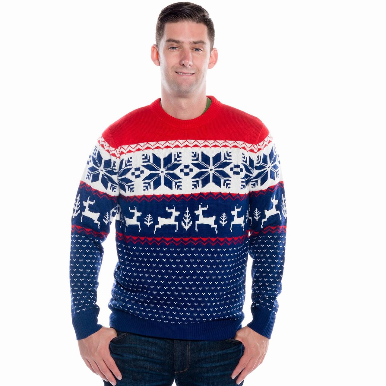 Winter Wonderland Christmas Sweater. Ladies.