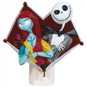 Jack and Sally Nightlight - Nightmare Before Christmas