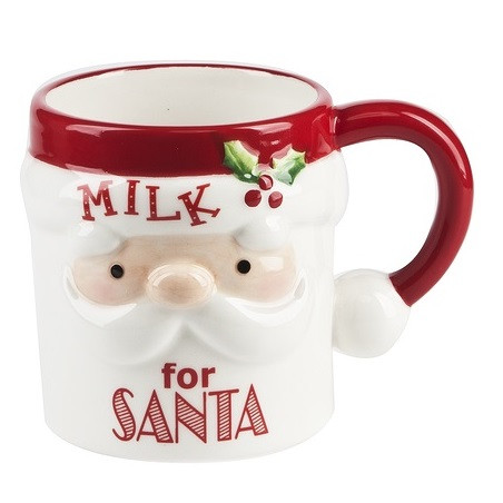 Milk for Santa Christmas Mug