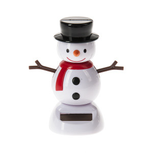 Solar Snowman Bobble