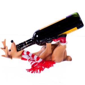 Drunk Deer Wine Bottle Holder with Bottle