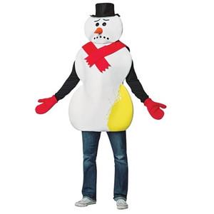 Yellow Snowman Costume