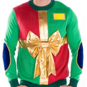 Wrapped in a Bow Ugly Christmas Sweater 6