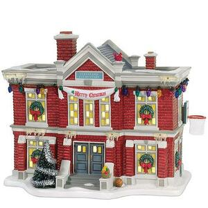 Cleveland Elementary School Department 56 A Christmas Story Village