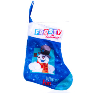 Frosty the Snowman Mini Stocking