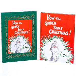 Deluxe Grinch Book with Slip Cover