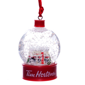 Tim Hortons Snow Globe Ornament