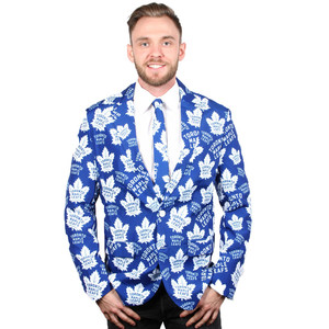 Toronto Maple Leafs Ugly Sport Jacket and Tie