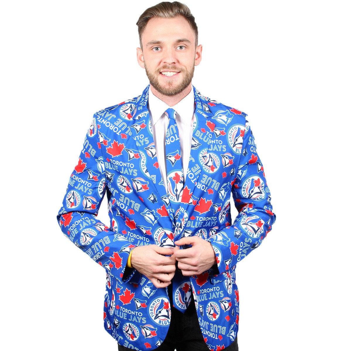 Toronto Blue Jays Suit Jacket And Tie Retrofestive Ca