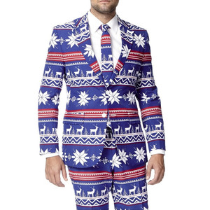The Rudolph Christmas Suit by OppoSuits Closeup