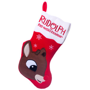Rudolph the Red-Nosed Reindeer Musical Christmas Stocking