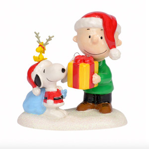 "Peanuts ""This Gift's For You"" Figurine"
