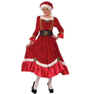 Velvet Mrs. Claus Costume