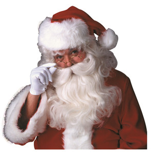 Deluxe Santa Claus Wig & Beard Set