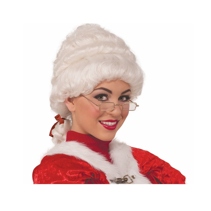 Mrs clause wig white wigs online