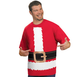 Santa Suit T-Shirt - X-Large