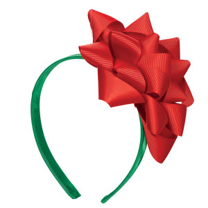 Big Bow Christmas Headband