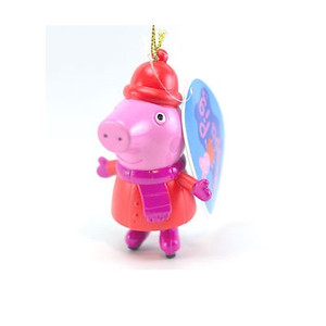Peppa Pig in Skates Ornament