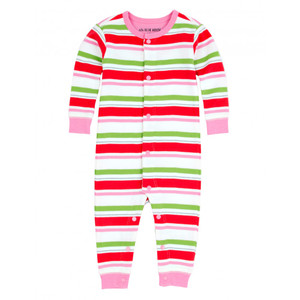 "Hatley ""Lighten Up"" Christmas Onesie"