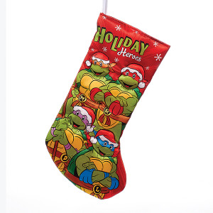 Retro Ninja Turtles Christmas Stocking