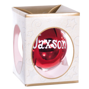 Personalized Christmas Ball Ornament