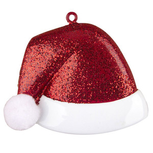 Santa Hat Personalized Ornament
