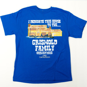 I Dedicate This House - Christmas Vacation T-Shirt