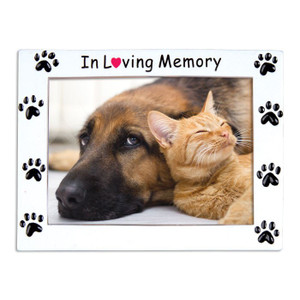 In Loving Memory Pet Frame Personalized Ornament