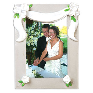 Wedding Picture Frame Ornament