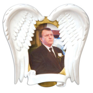 In Loving Memory Photo Frame Christmas Ornament
