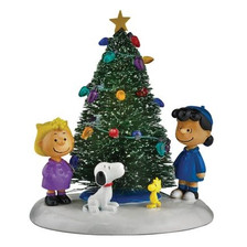 O' Christmas Tree - Peanuts Village - Department 56