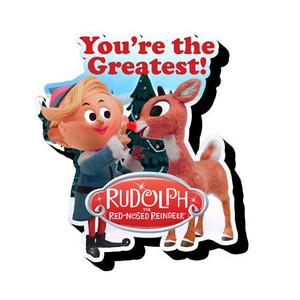 Rudolph & Hermey Chunky Magnet