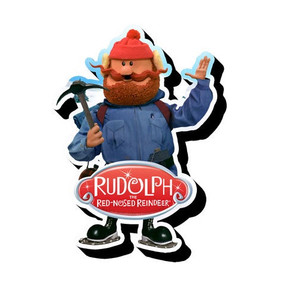 Yukon Cornelius Rudolph the Red-Nosed Reindeer Chunky Magnet