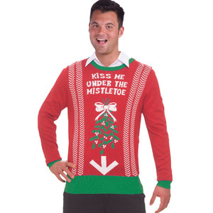 Naughty Ugly Christmas Sweater for Adults