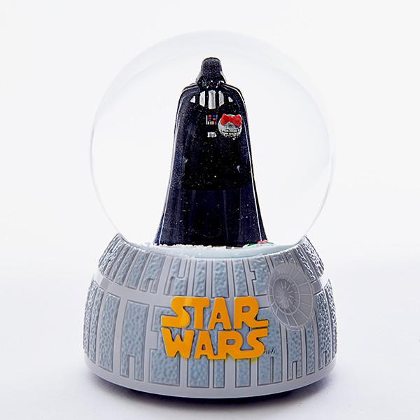 Darth Vader Musical Holiday Snow Globe Star Wars