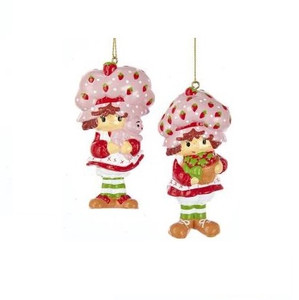 Strawberry Shortcake Christmas Ornaments