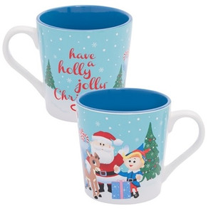 Rudolph Holly Jolly 12 oz mug