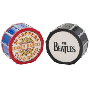 Beatles Drum Salt and Pepper Shaker Set