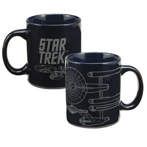 Star Trek Enterprise 12 oz Ceramic Mug