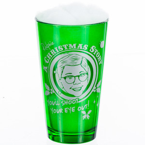 You'll Shoot Your Eye Out Pint Glass A Christmas Story