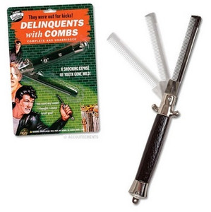 Switchblade Comb front