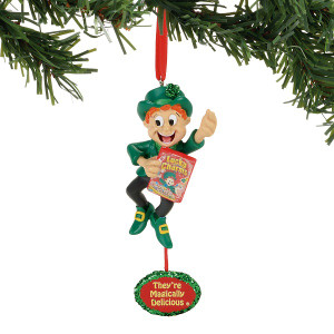 Lucky Charms Leprechaun Ornament