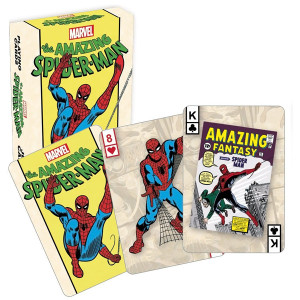 Retro Spider-man Playing Cards
