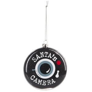 Santa's Camera Ornament