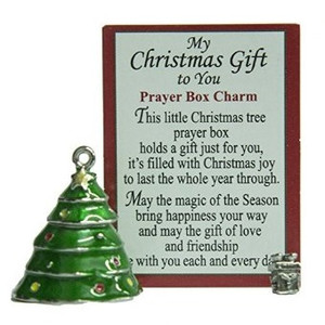Prayer Box Christmas Tree Charm Single