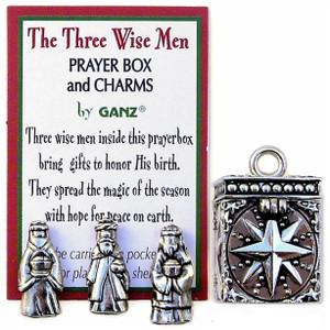 Three Wise Men Prayer Box & Charm single