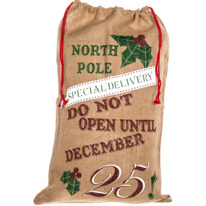 North Pole Santa Sack