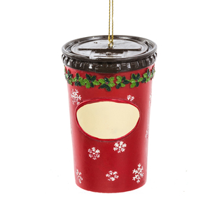 Timmie's Coffee Cup Personalized Ornament